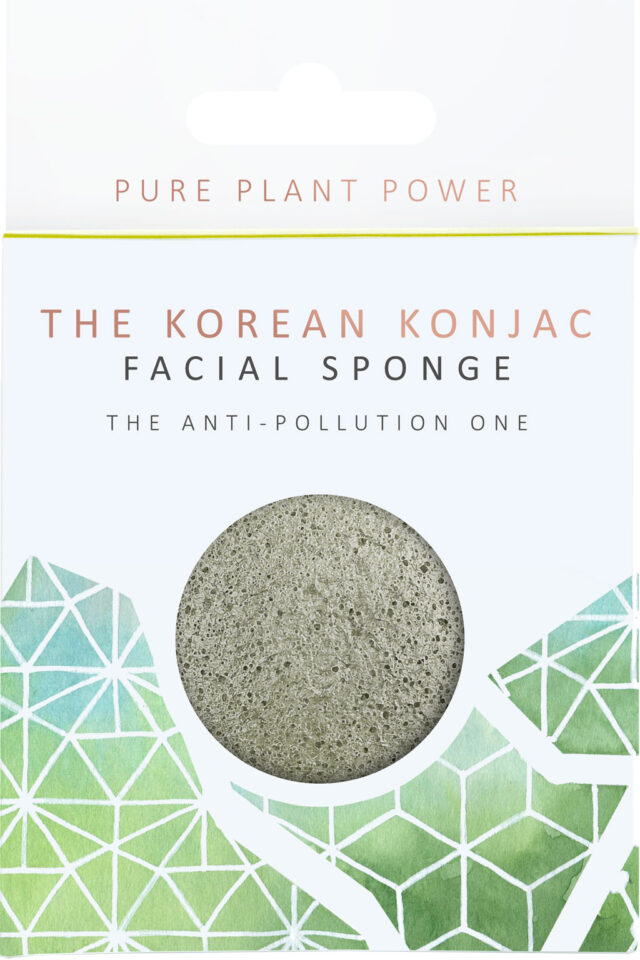 Elements Earth Tourmaline Konjac Sponge