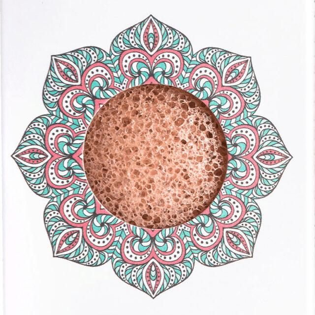 Mini Konjac Pink Clay